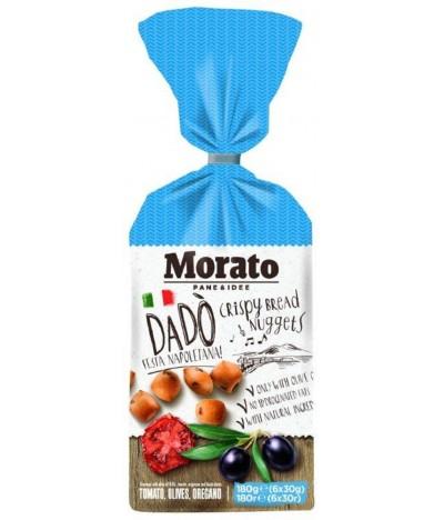 Nuggets de Pão sabor Napolitano Tomate Azeitonas e Orégãos 180gr