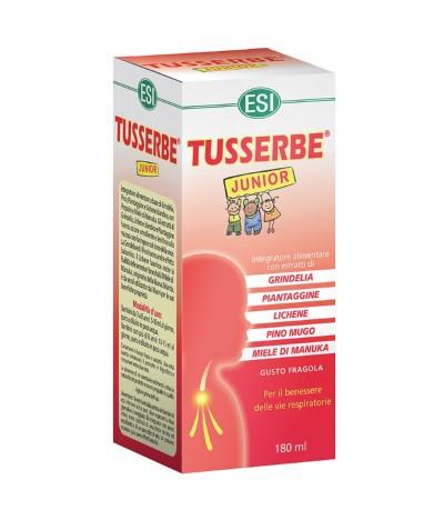 Jarabe Tuserbe Júnior Sabor Fresa SIN GLUTEN 180ml