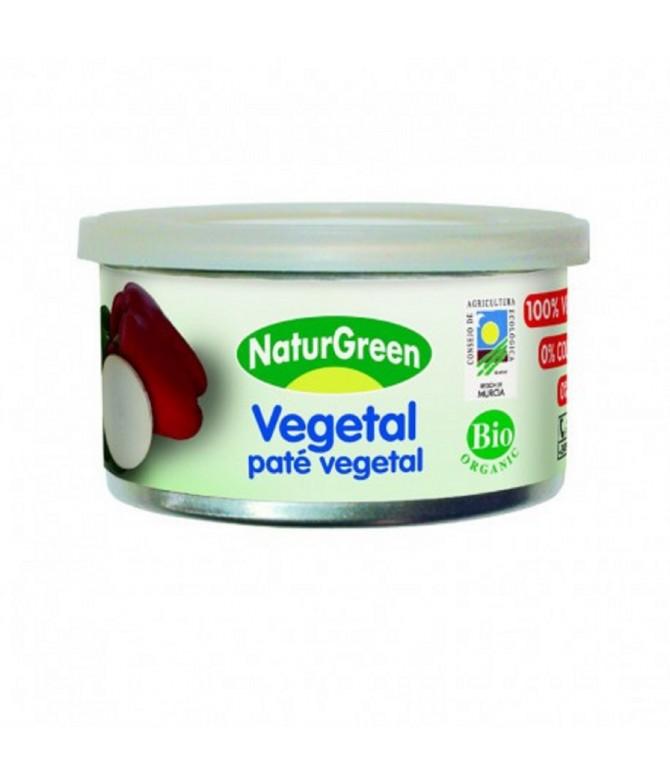 NaturGreen Paté Vegetal 100% BIO SIN GLUTEN SIN LACTOSA 125gr