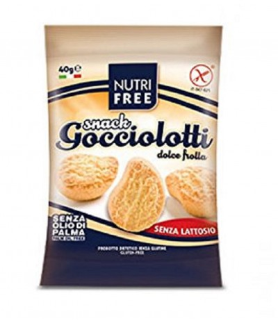 NutriFree Galletas Gocciolotti SIN GLUTEN SIN LACTOSA 40gr