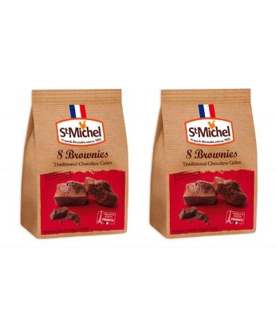 PACK 2 St. Michel Bolinhos de Chocolate Preto 200gr