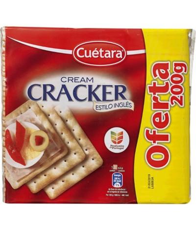 Bolachas Cream Cracker 600gr