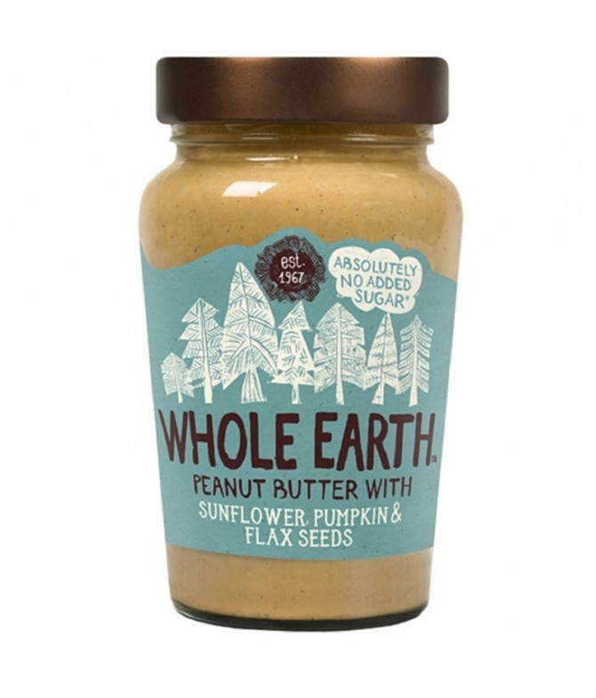 Manteiga de Amendoim com Sementes BIO SEM GLÚTEN 340gr