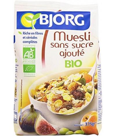 Bjorg Muesli Frutas & Sementes SEM AÇÚCAR BIO 375gr