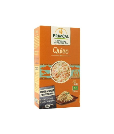 Quico Quinoa Lentilhas Cenoura BIO 500gr