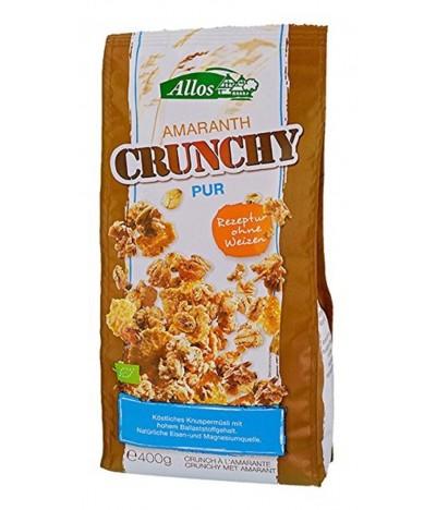 Cereais Muésli Crunchy com Amaranto BIO 400gr