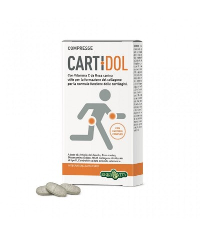 Suplemento Cartidol Cartilagens 45un