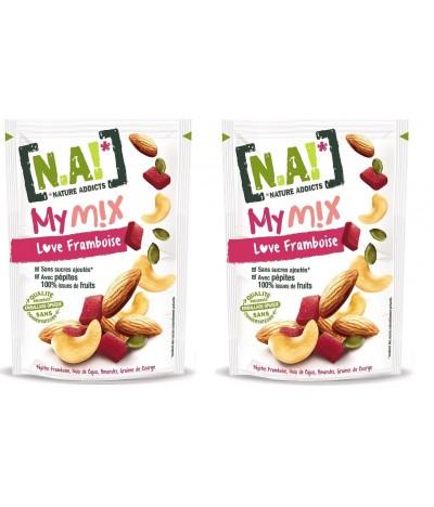 PACK 2 MyMix Frutos Secos & Framboesa 120gr