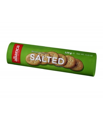 Bolachas Cracker com Sal 125gr
