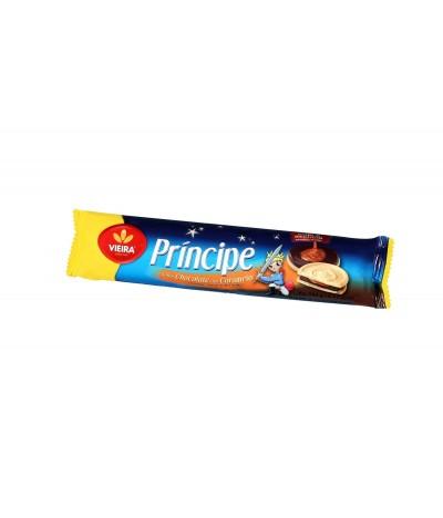 Bolachas Príncipe de Chocolate e Caramelo 145gr