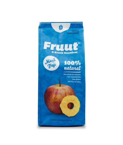 Fruut Snack Chips de Maçã Fuji 100%