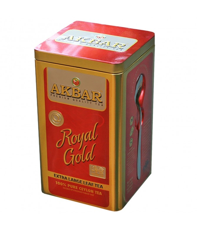 Té Negro de Ceilán Royal Gold Lata 250gr