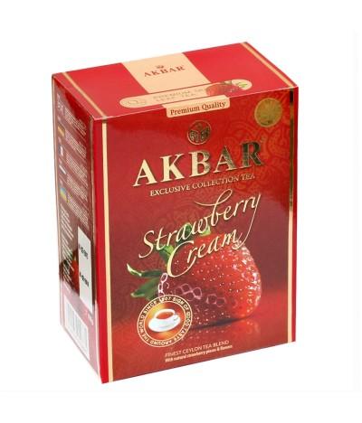 Chá Preto do Ceilão Strawberry Cream Exclusive Collection 100gr