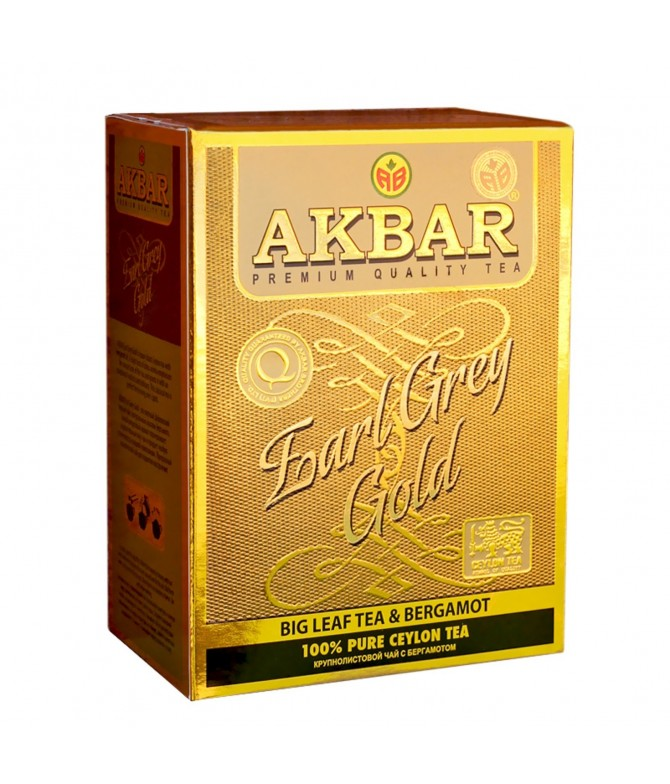 Chá Earl Grey Royal Gold 80gr