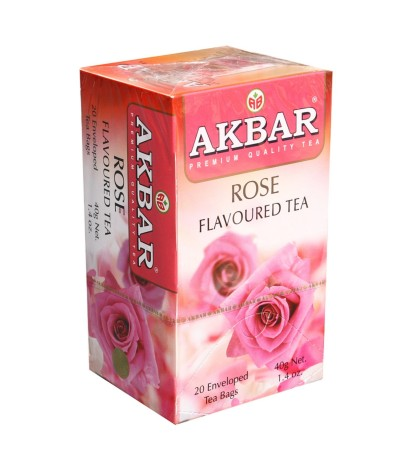 Chá Preto Rosas 20un
