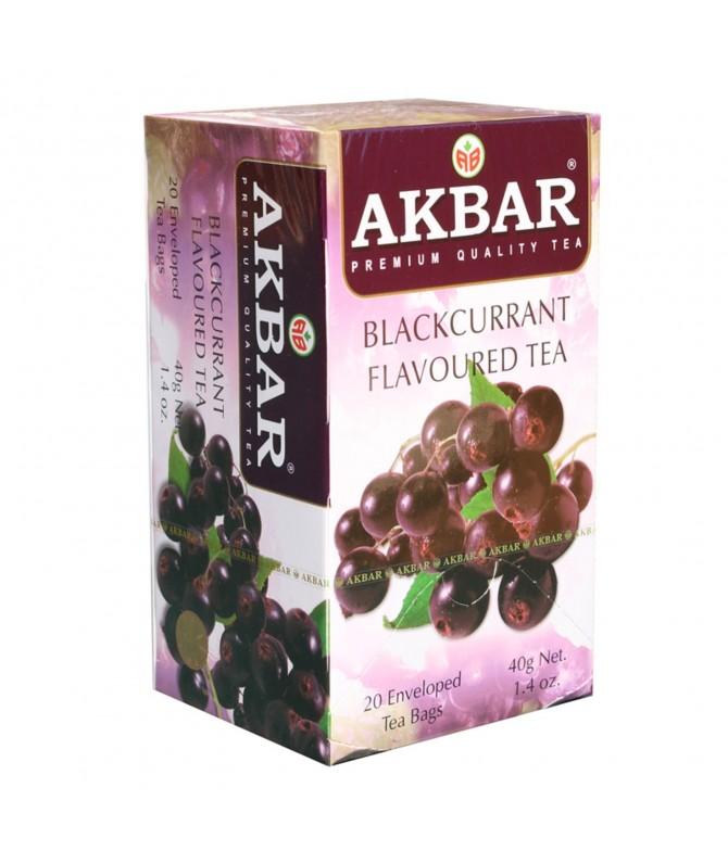 Akbar Té Negro & Grosella Negra 20un