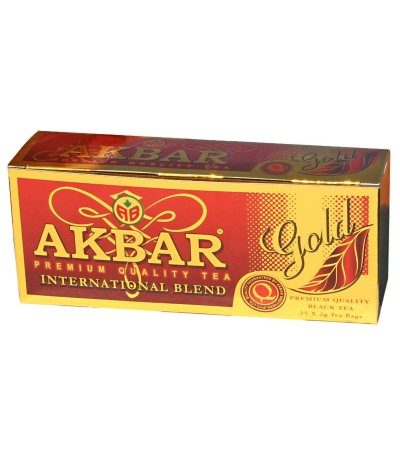 Chá Preto Gold International Blend 25un