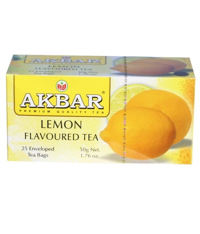Chá Preto Limão 25un