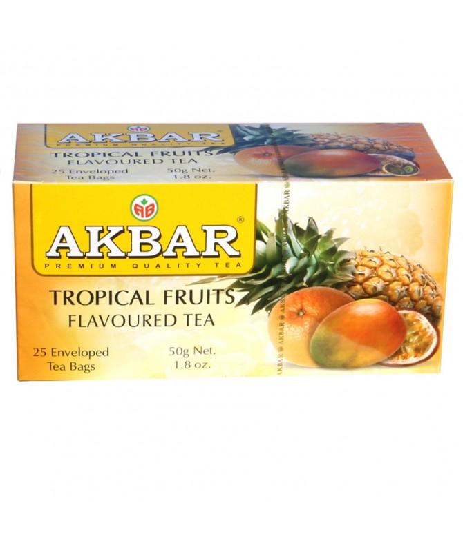 Chá Preto & Frutos Tropicais 25un