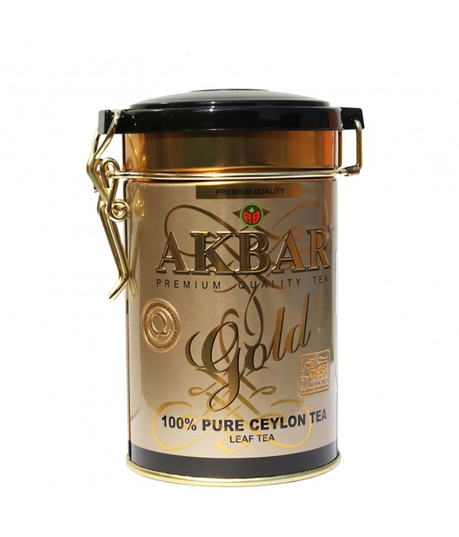 Chá Preto do Ceilão Gold Lata 100gr