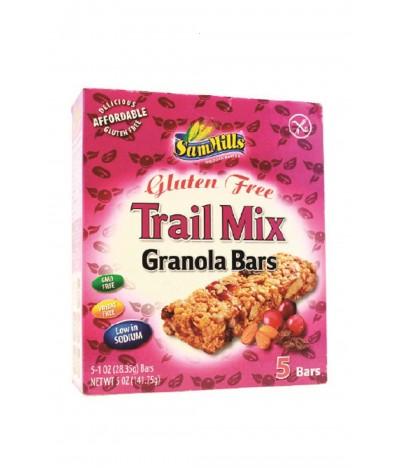 Barritas Granola Frutos Secos SIN GLUTEN 5x28,35gr