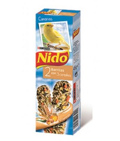 Purina Nido Barritas de 3 Cereais para Canários 2un 45gr