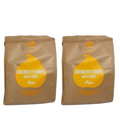 PACK 2 Chips de Pera Crujientes SIN GLUTEN 20gr