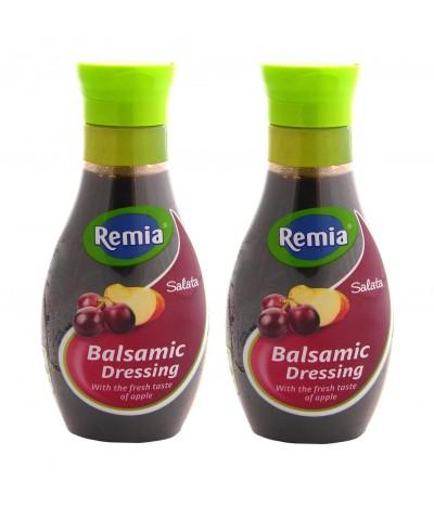 PACK 2 Remia Molho Salada Vinagre Balsâmico Maçã 250ml