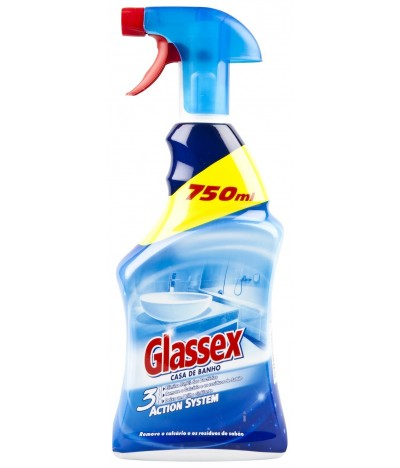 Glassex Spray Casa de Banho Action System 750 ml