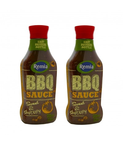 PACK 2 Salsa Barbacoa Remia 300ml