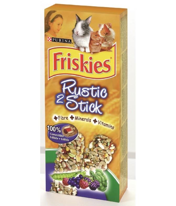 Friskies Rustic Sticks Vitaminas Minerais para Roedores 2un
