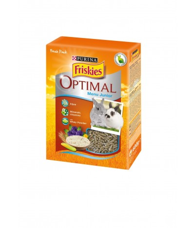 Friskies Optimal Menu Júnior para Coelho Anão Granulado