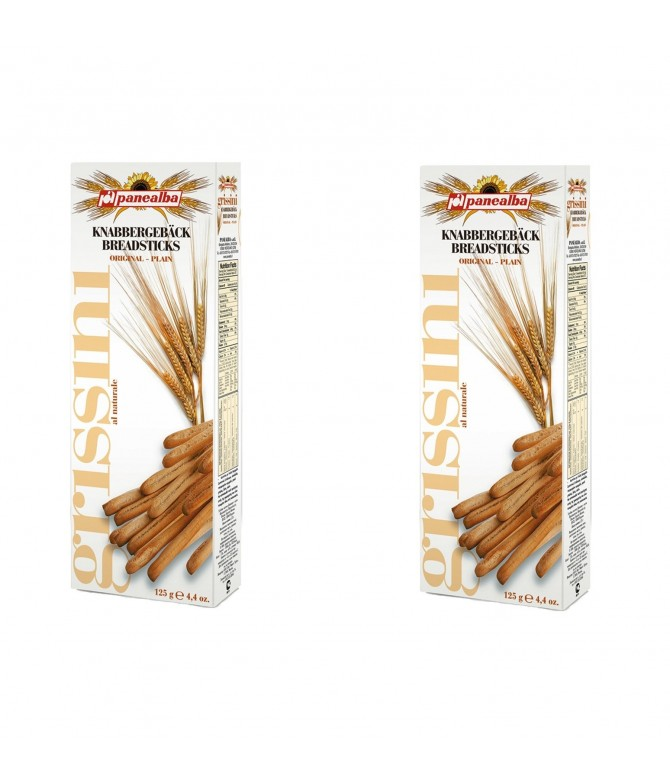 PACK 2 Panealba Grissini Original 125gr