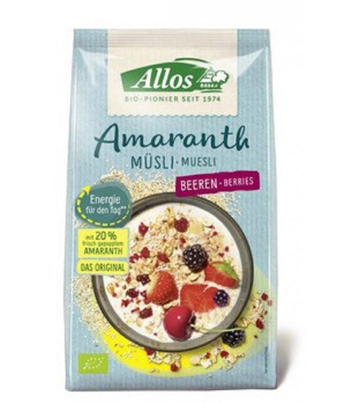 Allos Cereais Muesli Amaranto & Frutos do Silvestres 375gr
