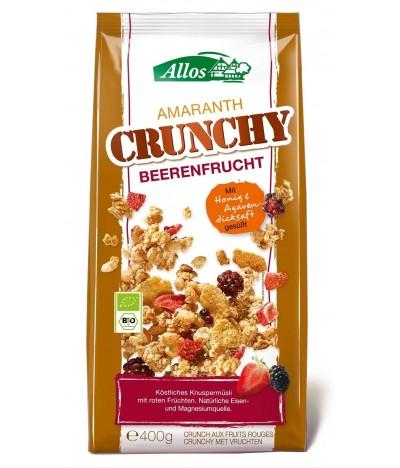 Cereales Muesli Crunchy Amaranto & Frutos Vermelhos BIO 400gr