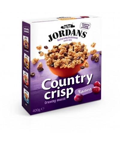 Cereais Country Crisp Uvas Passas Jordans