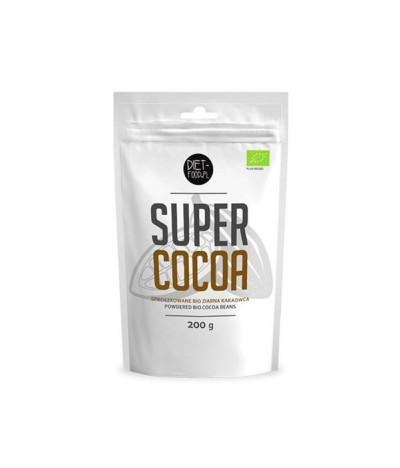 Diet-Food Super Cacao en Polvo BIO ANTIDEPRESIVO 200gr