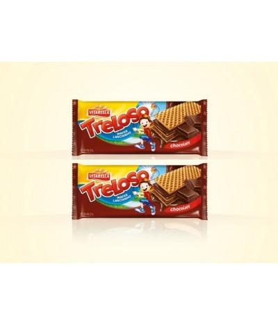 PACK 2 Vitarella Wafer Treloso Chocolate 35gr