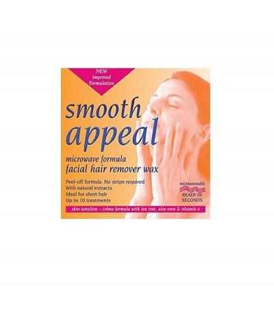 Smooth Appeal Cera Facial Microondas 40gr