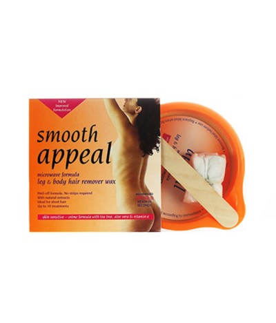 Smooth Appeal Cera Corporal Microondas 125gr
