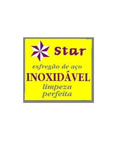 Star Esfregão em Aço Inoxidável 1un