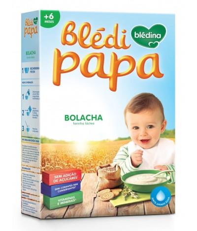 Farinha Láctea Blédipapa Bolacha +6 Meses SEM AÇÚCAR 250gr
