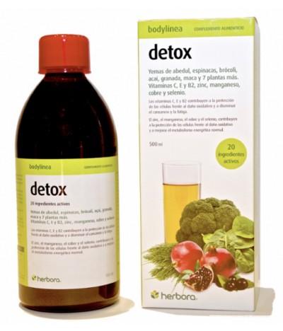 Herbora Suplemento Alimentar Bodylinea DETOX 500ml
