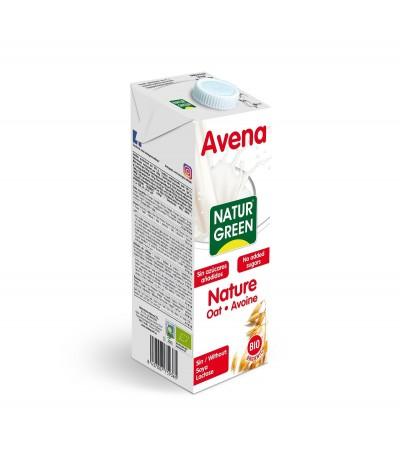 NaturGreen Bebida Aveia BIO 0% Açúcar SEM LACTOSE 1L