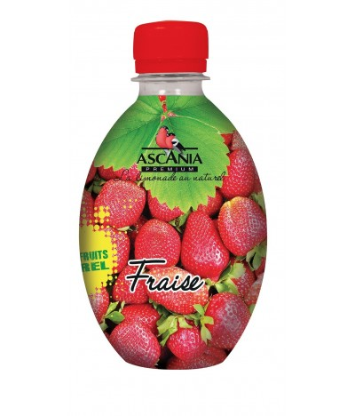 Ascania Zumo de Fresa 33cl