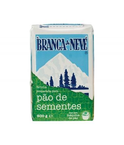 Branca de Neve Farinha para Pão de Sementes 500gr