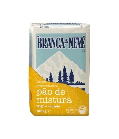 Branca de Neve Farinha para Pão Mistura 500gr