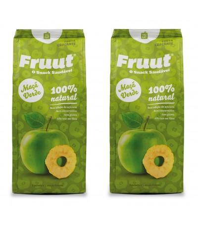 PACK 2 Fruut Snack Chips 100% Maçã Verde 60gr