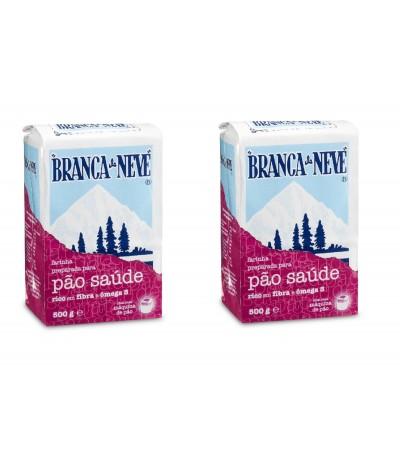 Branca de Neve Harina para Pan Salud 500 gr