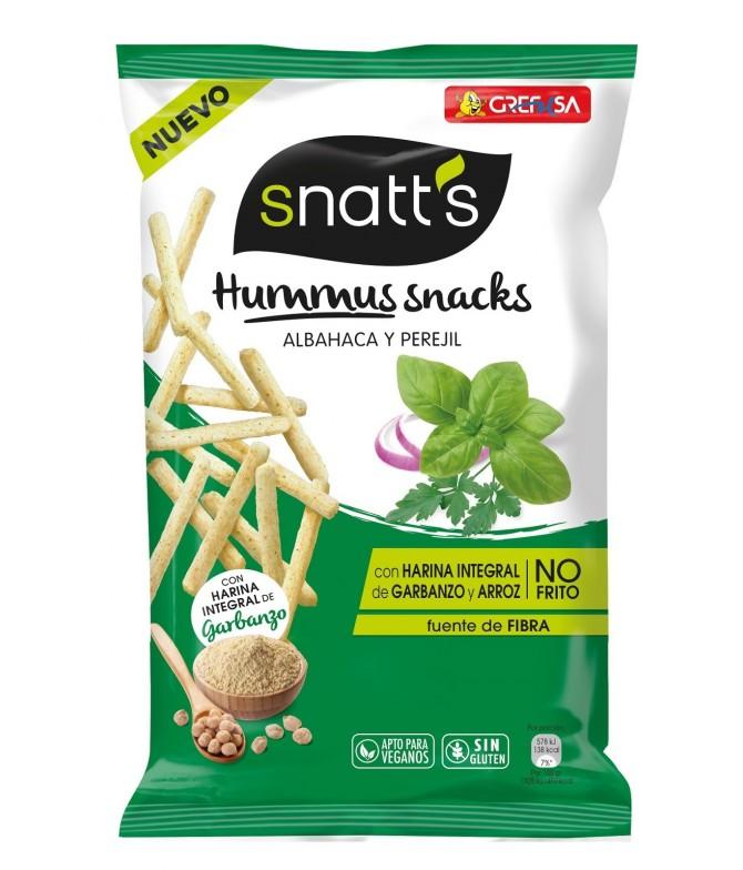 Snatt's Palitos Pão Hummus Basílico & Salsa 110gr
